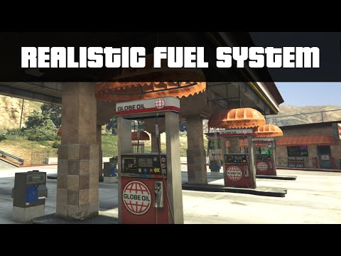 REAL CAR FUEL SYSTEM | GTA 5 PC Mods