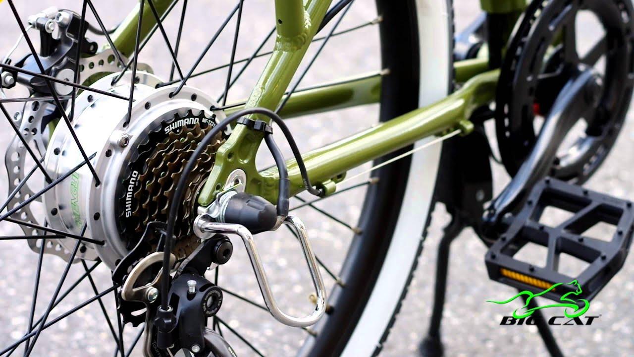 How Does An Electric Bike Work Youtube