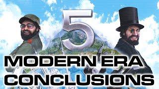 Tropico 5: Modern Era Conclusions
