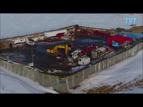 BREAKING: DAPL Pipe Underground Near Missouri River