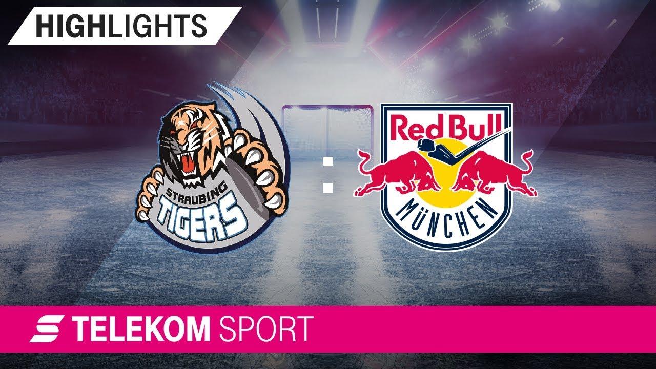Straubing Tigers - EHC Red Bull München | 37. Spieltag, 18/19 | Telekom Sport
