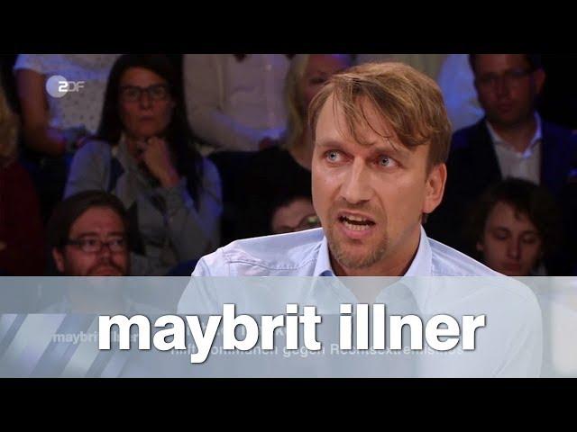 maybrit illner vom 30.08.2018: Hetzjagd in Chemnitz - Bewährungsprobe für den Rechtsstaat?