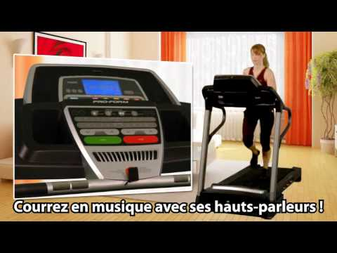 Tapis De Course Proform 1010 Zlt Tool Fitness Youtube