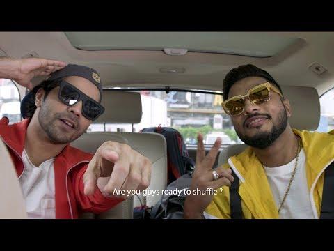 Varun Dhawan and Raftaar are shuffling with Breezer Vivid Shuffle