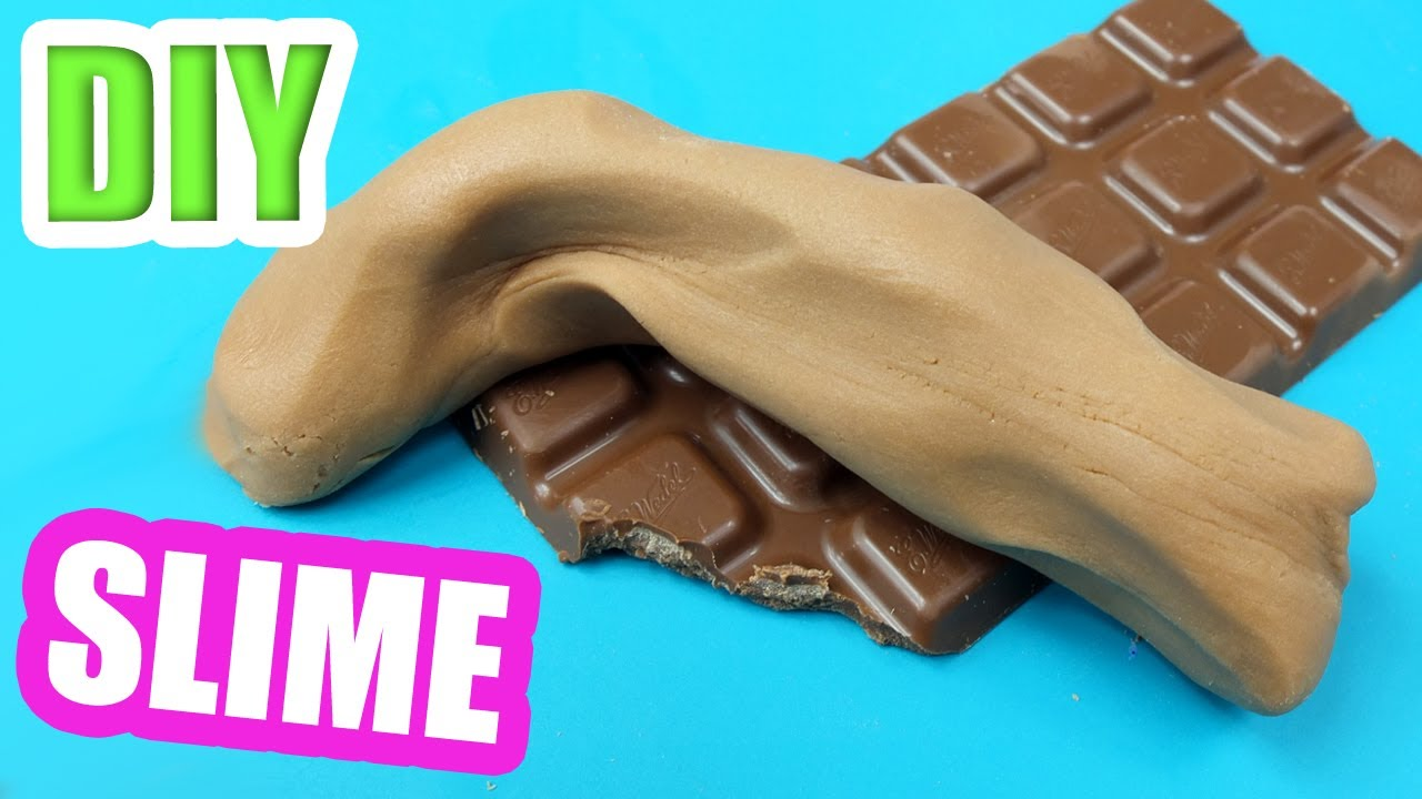 Chocolate Slime That You Can Eat! How To Make Slime With Chocolate