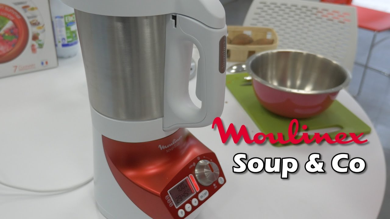 Moulinex soup co d mo du blender chauffant en fran ais - Moulinex soupe and co ...