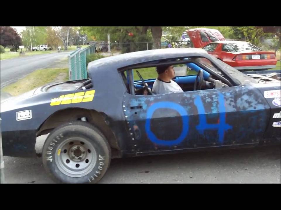 Camaro Bomber Race Car Dirt On The Street Burnout Youtube