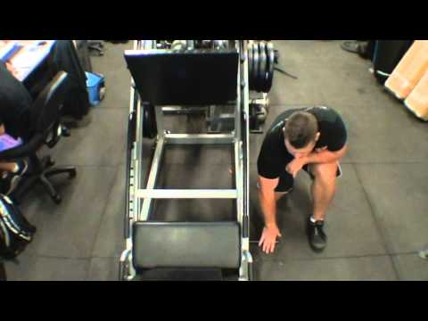 Leg Press Hack Squat - Home Gym Exercises - F-LPHS From Force USA
