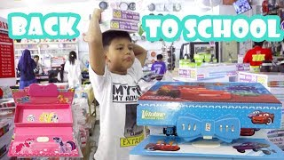 Fairuz Back To School Supplies Haul | Hari Pertama Sekolah