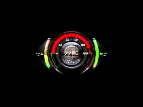 NVIDIA instrument cluster