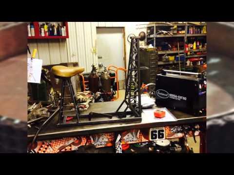 Oilfield Bike Bar Project