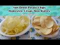 Sun Dried Potato Chips | Homestyle Crispy Aloo Wafers | Priya R | Magic of Indian Rasoi