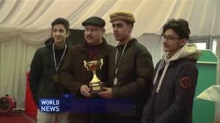 Sahibzada Mirza Waqas Ahmad joins Atfal Football League PresentationDinner