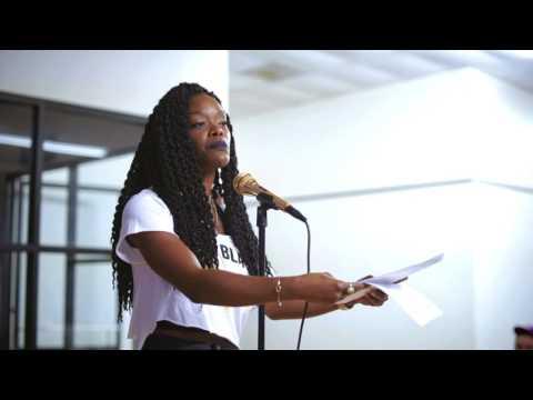 """Ebony Stewart - """"Happy Mother's Day"""" @WANPOETRY (Upgrade Speakers: Baytown's own Ebony Stewart)"""