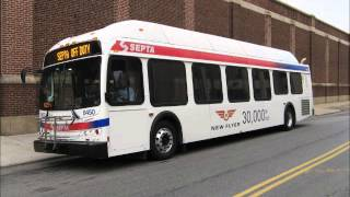 Septa 2010 New Flyer DE41LFR 8450