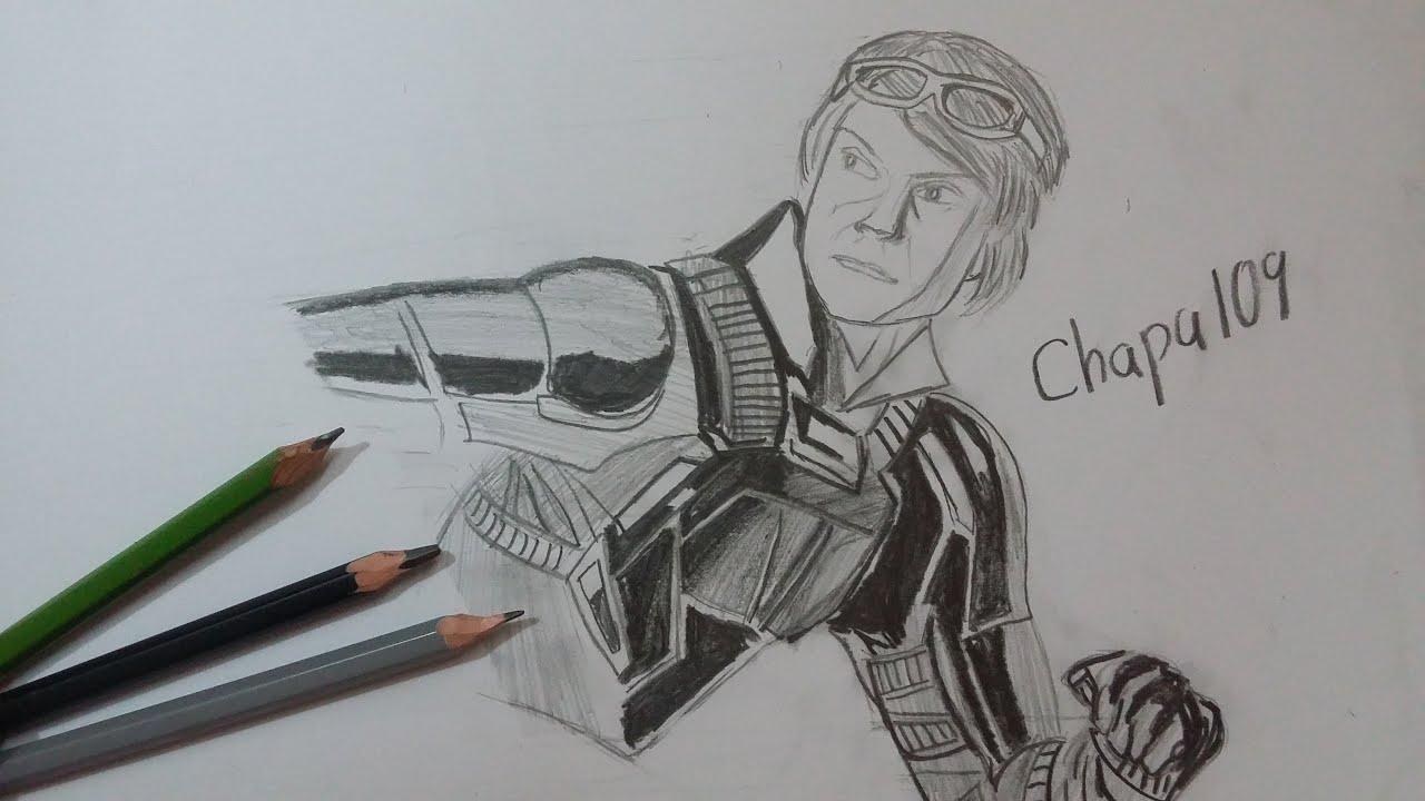 Dibujo De Quicksilver: X-Men Apocalipsis/ Drawing