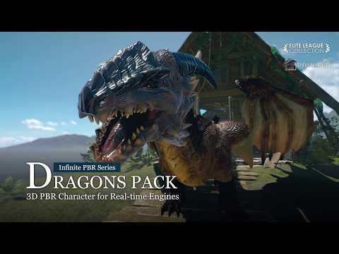 iClone 7 - Infinity PBR Series - Dragons