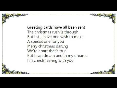 Vanessa Williams Merry Christmas Darling Lyrics Youtube