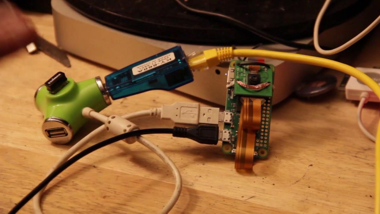 Mad Jackal Labs Presents: Motion Eye OS On The Raspberry pi Zero