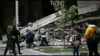 Albania, forte scossa di terremoto: le prime immagini dopo il sisma
