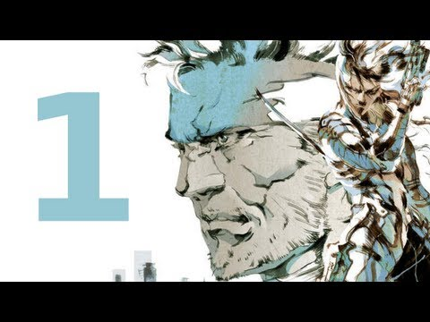 MGS 2 HD Collection - Walkthrough - Part 1 (No Commentary)