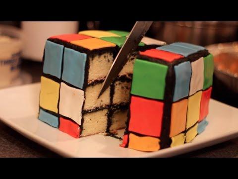 diy rubiks cube cake diy test 8 youtube