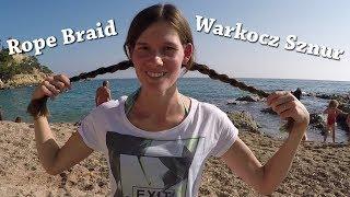 ROPE BRAID - Warkocz Sznur & Popołudnie nad morzem & Mango