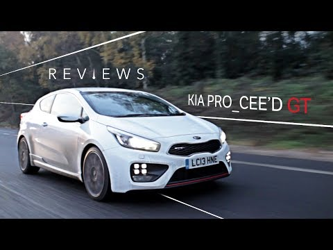 Kia's Pro Cee'd GT Is A Sexy Warm Hatch You Shouldn't Ignore