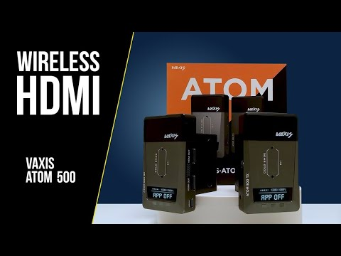 Wireless HDMI Video Transmitter and Receiver - Vaxis Atom 500 - Full Review & Tests