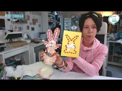 Plotterideen Zu Ostern Für Kinder - EMB Für Plottermarie Ideensprechstunde