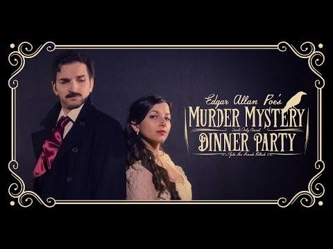 Edgar Allan Poe's Murder Mystery Dinner Party TRAILER
