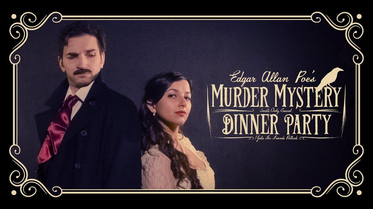 Znalezione obrazy dla zapytania edgar allan poe's murder mystery dinner party