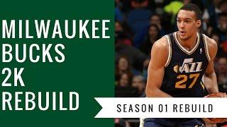 Bring Giannis a ring! Milwaukee Bucks S01 One Year Rebuild - NBA 2K17 My League Rebuild