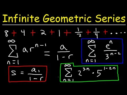 Finding The Sum Of An Infinite Geometric Series