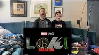 Marvel Studios' Loki   Official Trailer  Disney + REACTION!!!!   HD 1080p