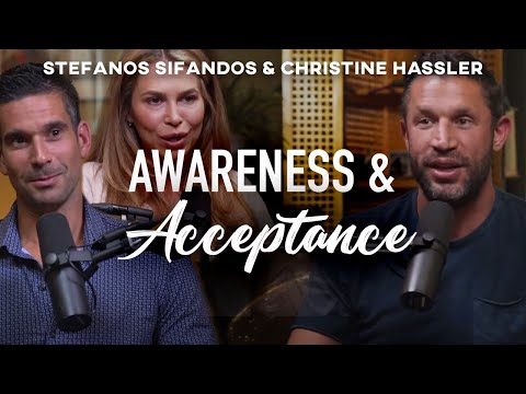 HOW TO HEAL the wounds that show up in your RELATIONSHIP | Christine Hassler & Stefanos Sifandos
