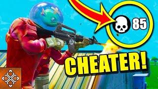 I met cheater at Fortnite 🤔