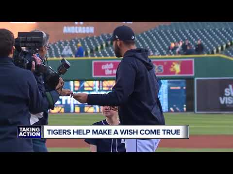 Tigers help Make-A-Wish teen's dream to attend All-Star Game come true