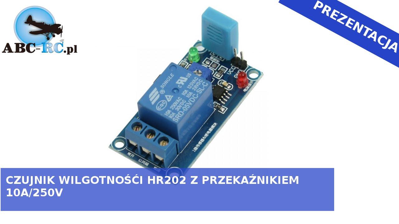 Moduł Przekaźnika Z Czujnikiem Wilgotności Hr202 Abc Rcpl