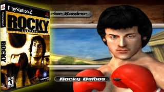 🔴 ROCKY LEGENDS (PS2 - 🇩🇪) Career Rocky Balboa - Full Playthrough