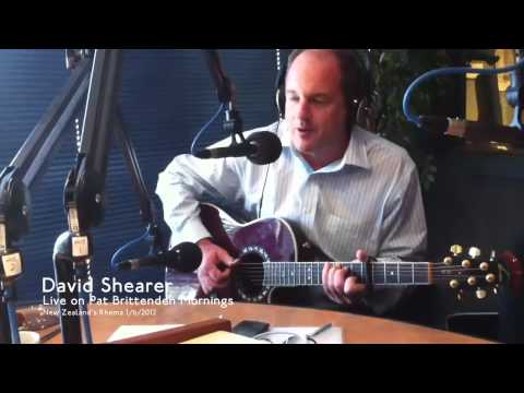 David Shearer sings Steve Earle