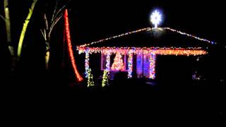 2012 Christmas Light Show: A Very Techno Christmas