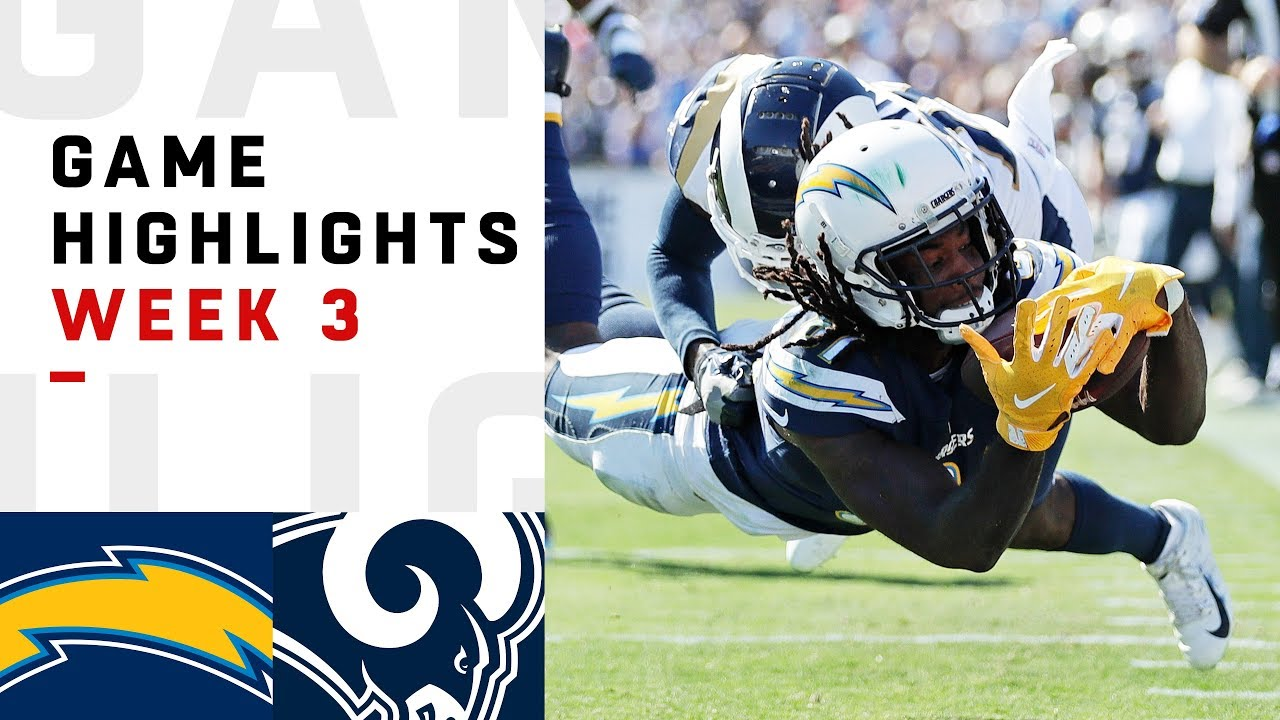 Chargers Vs Rams Week 3 Highlights Nfl 2018 Youtube