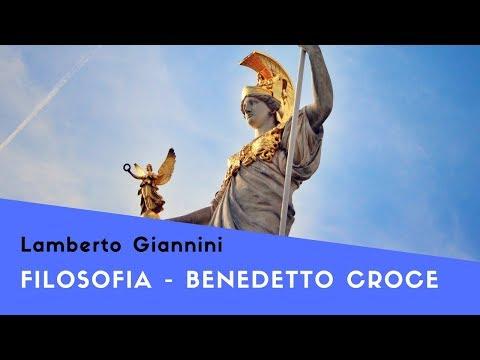 Filosofia: Breve sintesi della filosofia di Benedetto Croce