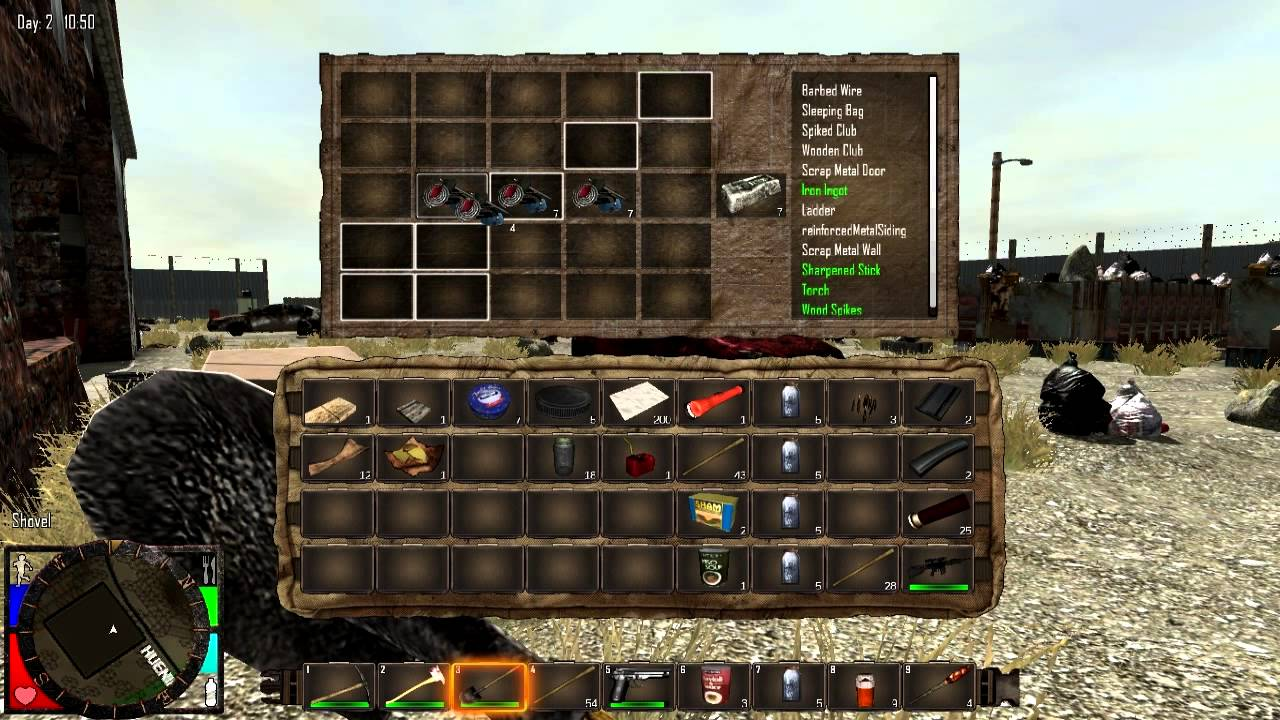 Seven Days To Die Crafting
