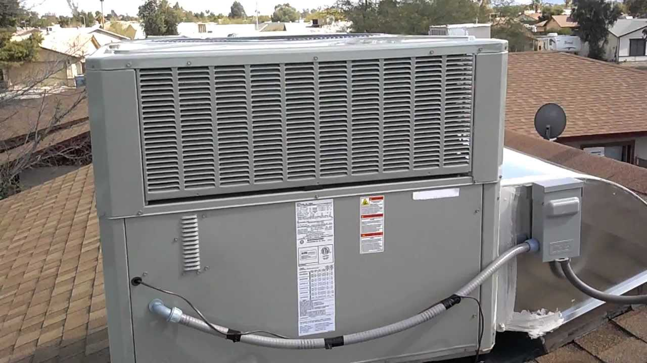 3 5 Ton 13 Seer American Standard Heat Pump Youtube