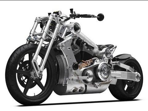 Confederate Motorcycles - P120 Combat - Speedfreaktv