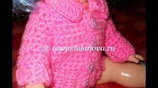 Кофточка Нежность - 1 часть - Crochet children's sweaters -  вязание резинки(2 - http://youtu.be/K6kK0h60jxQ 3 - http://youtu.be/0VhQqkFz2Q0 4 - http://youtu.be/FPcsZOXb3Xc Вязание крючком детской кофты. Crochet children's ..., 2014-05-30T17:51:30.000Z)