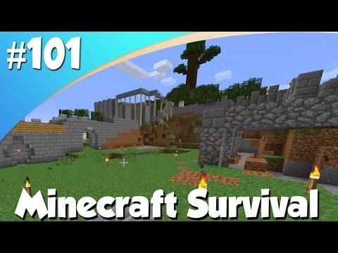 BUITEN KASTEEL MOOI MAKEN! (Minecraft #101)