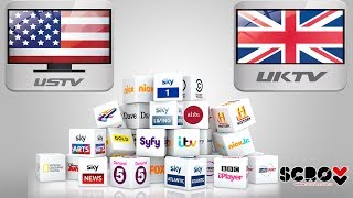 Amerika ve İngiltere Tv Kanalları